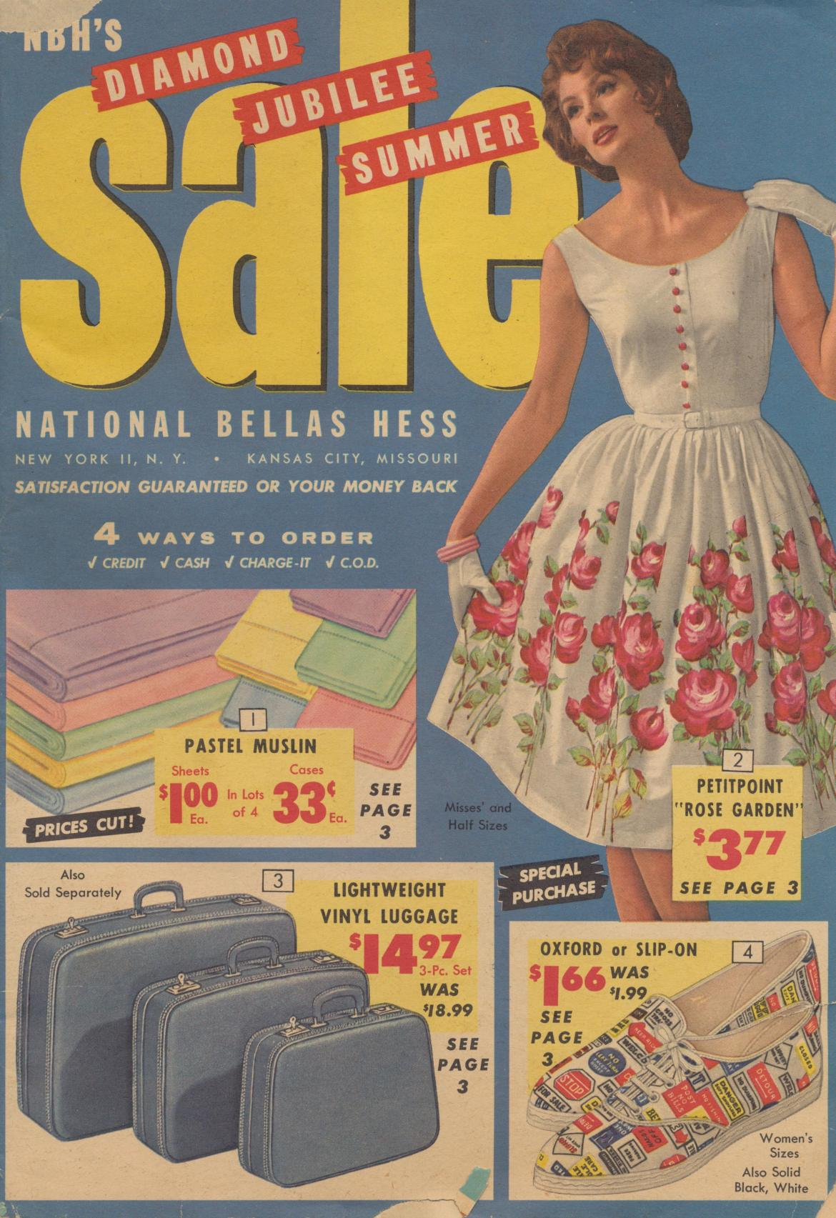 1963 National Bellas Hess Catalog