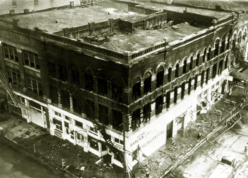 Gulf Hotel Fire – September 7, 1943