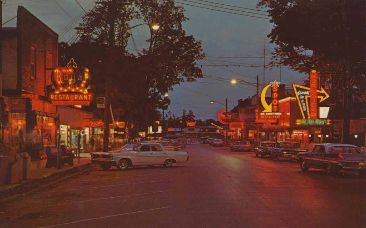 Then and Now: James Street – Alexandria Bay, New York