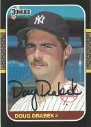 1987 Donruss Doug Drabek