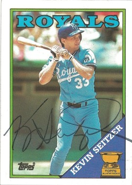 1988 Topps Kevin Seitzer