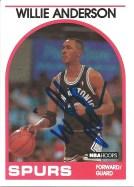 1989-90 Hoops Willie Anderson