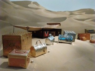 1925 Citroen expedition luggage by Louis Vuitton.