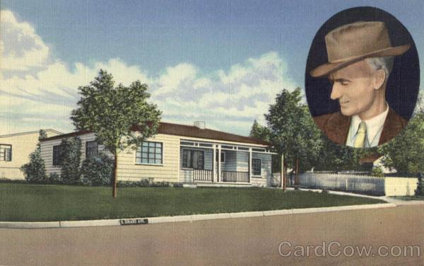 Ernie Pyles Home Albuquerque NM