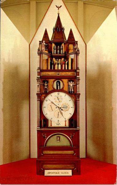 The Apostolic Clock In The Hershey Museum