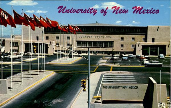 Johnson Gymnasium University Of New Mexico Albuquerque NM