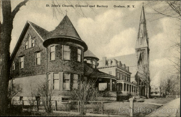 St Johns Church Goshen NY