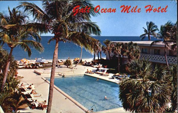 Galt Ocean Mile Hotel Fort Lauderdale FL