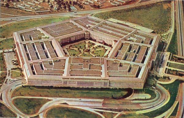 The Pentagon Building Arlington VA