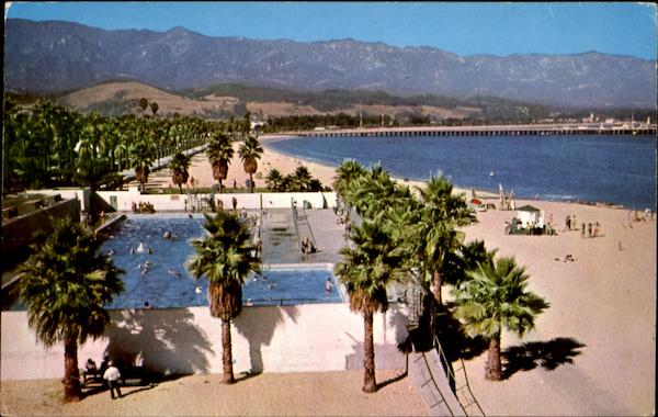 Los Banos Del Mar Municipal Swimming Pool Santa Barbara CA