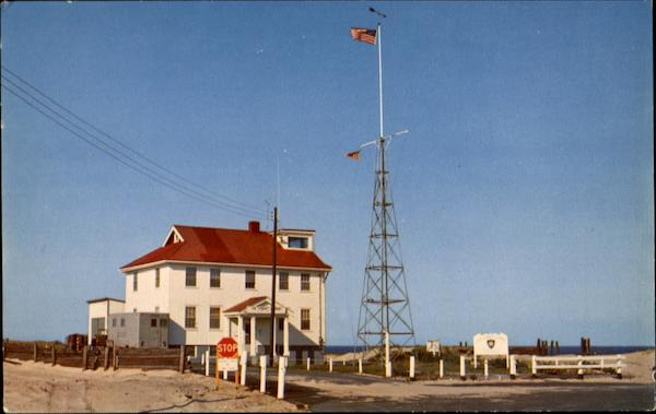 US Coast Guard Station At Race Point Provincetown MA