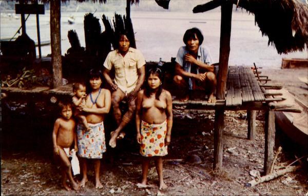 Choco Indians Of Drien Panama Panama