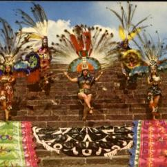 Chairs In Bulk Swivel Chair Canada Recreation Of Aztec Dances On Side Pyramid Mexico