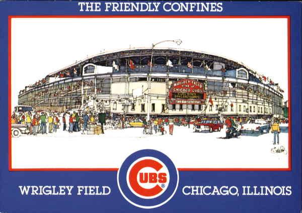 The Friendly Confines Wrigley Field Chicago IL