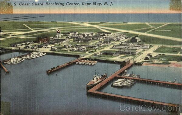 U S Coast Guard Receiving Center Cape May NJ