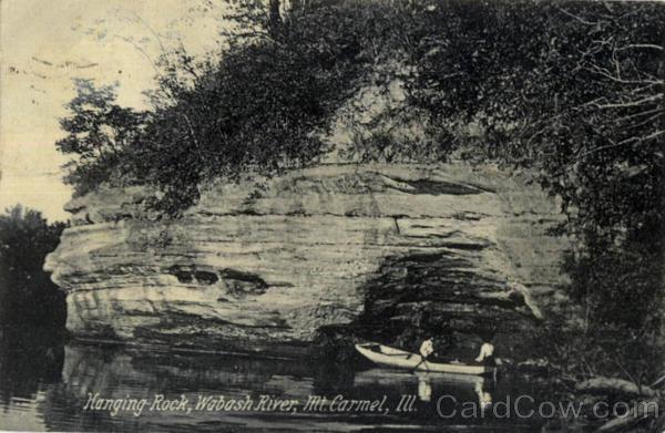 Hanging Rock Wabash River Mount Carmel IL