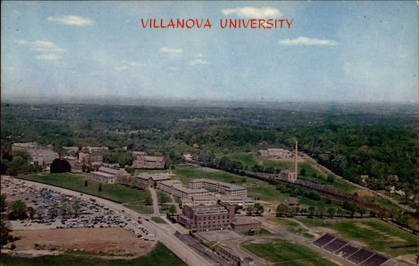 Aerial View Of Villanova University