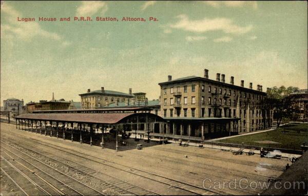 Logan House And PRR Station Altoona PA