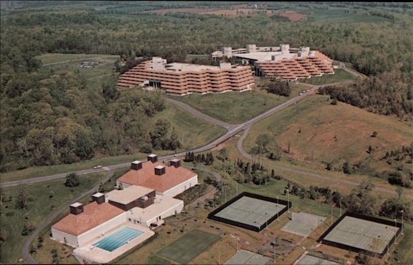 Aerial View Of Xerox International Center Leesburg VA