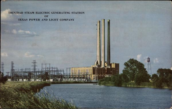 Trinidad Steam Electric Generating Station of Texas Power