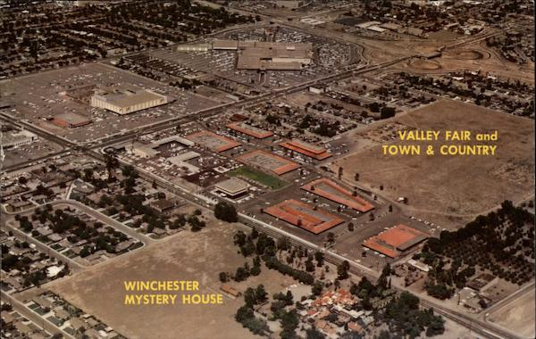 Valley Fair Town  Country Winchester Mystery House San Jose CA
