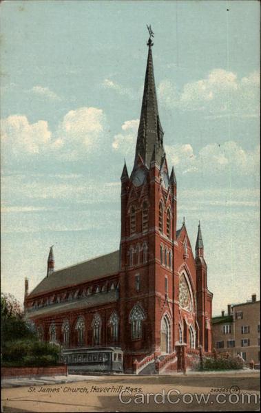St James Church Haverhill MA