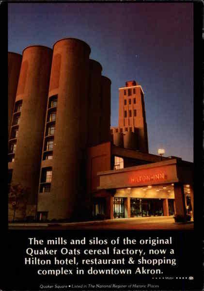 Quaker Square Hilton Akron OH