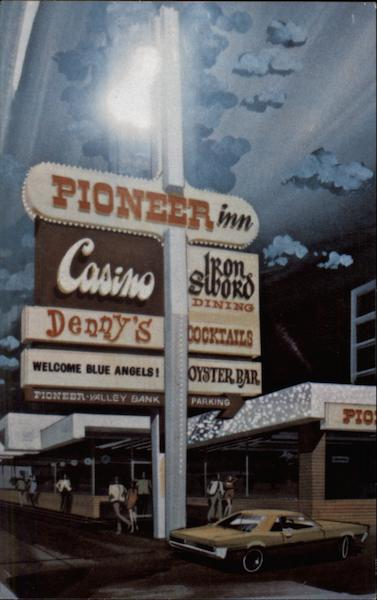 The Pioneer Inn And Casino Reno NV