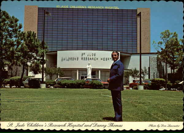 St Jude Childrens Research Hospital And Danny Thomas