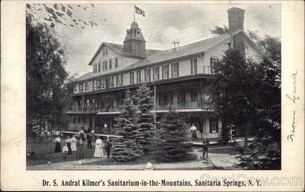 Dr S Andral Kilmers Sanitarium In The Mountains