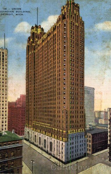 Union Guardian Building Detroit MI
