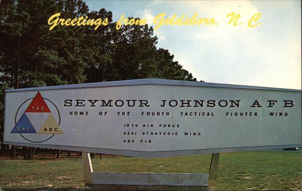 Seymour Johnson AFB Goldsboro NC