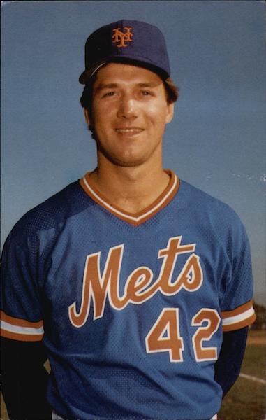 Roger McDowell Pitcher New York Mets Baseball