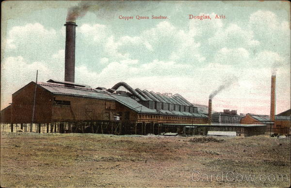 Copper Queen Smelter Douglas AZ