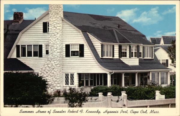 Summer Home Of Senator Robert F Kennedy Cape Cod MA