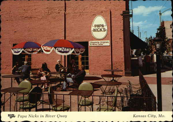 Papa Nicks In River Quay Kansas City MO