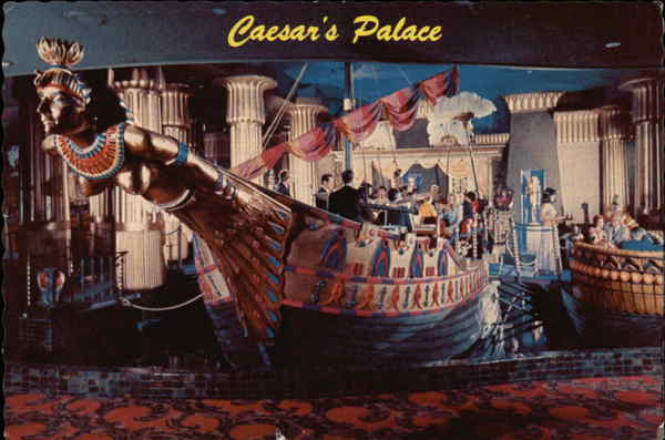 Cleopatras Barge At Caesars Palace Las Vegas NV
