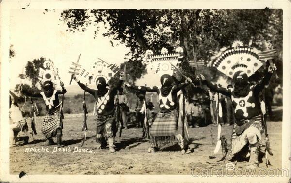 Apache Devil Dance Native Americana