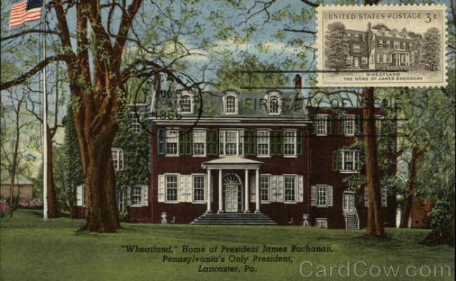 Wheatland Home Of President James Buchanan Lancaster Pa