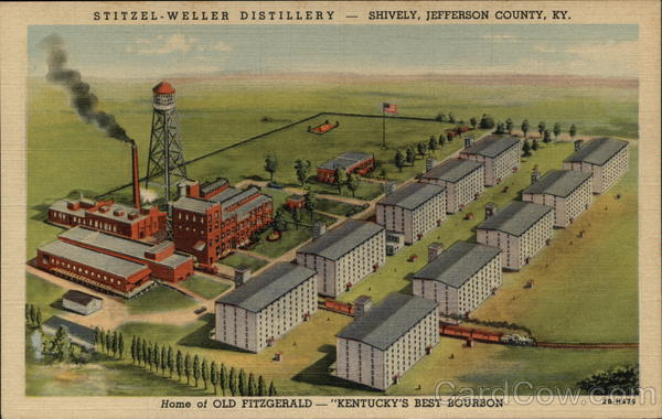 Stitzel Weller Distillery Home Of Old Fitzgerald