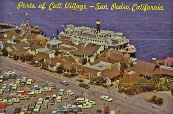 Ports Of Call Village Berth 77 Los Angeles Harbor San