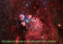 NGC 6334 LA NEBULOSA PATA DE GATOS
