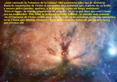 NGC2024 NEBULOSA DE LA LLAMA
