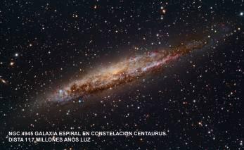 NGC4945_Galaxia espiral 13millones años luz