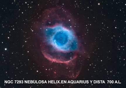 NGC7293 NEBULOSA HELIX