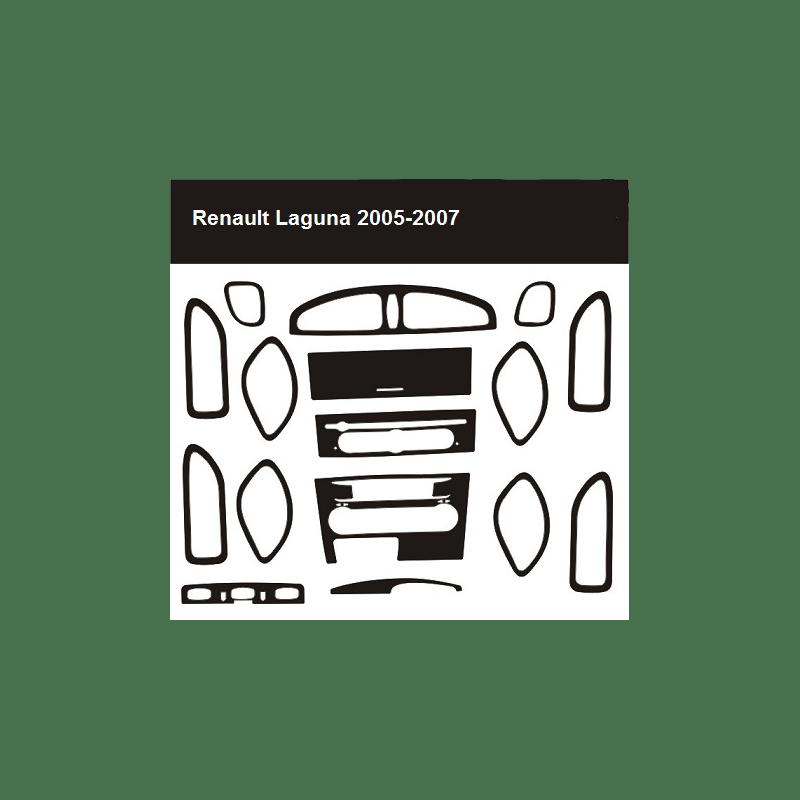 Okleina kokpitu Renault Laguna II 2005-2007