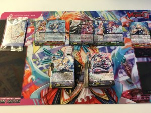 Results of the first box. A Special Reprint only replaces a R.