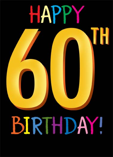 birthday ecards 60th birthday