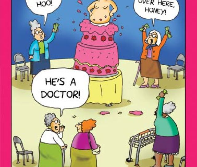 Doctor Stripper Funny Cartoons Stripper Is A Doctor Cartoon Comic Funny Old