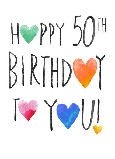 birthday ecards 50th birthday